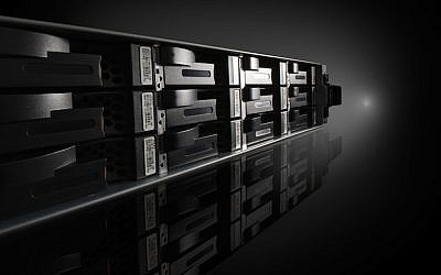 EMC's CLARiiON AX4 Networked Storage System (Photo credit: Courtesy)