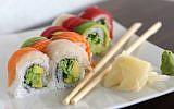 Sushi (illustrative photo credit: Liron Almog/Flash90)