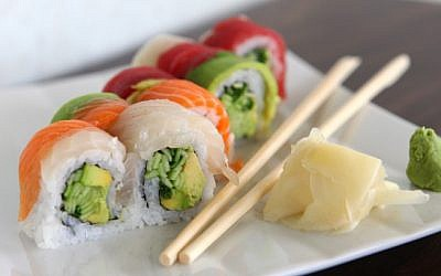 Sushi (illustrative photo credit: Liron Almog/Flash90)