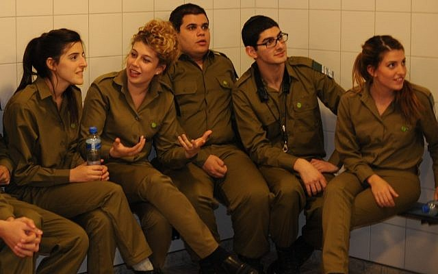 "Members of the Israel Defense Forces band were called ""stinking murderers"" by protesters during their annual tour of Europe this week. (Cnaan Liphshiz/JTA)"
