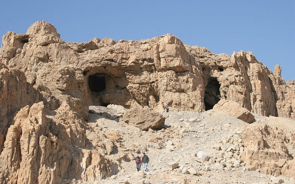 Qumran the land of buried treasure the times of israel - The cave the modern home in the mexican desert ...