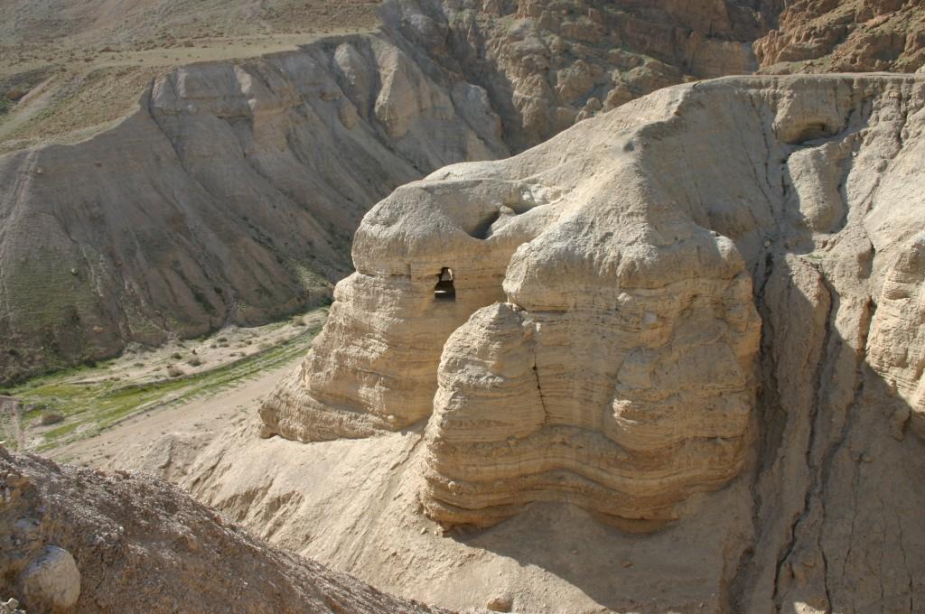 Caves of Qumran (photo credit: Shmuel Bar-Am)