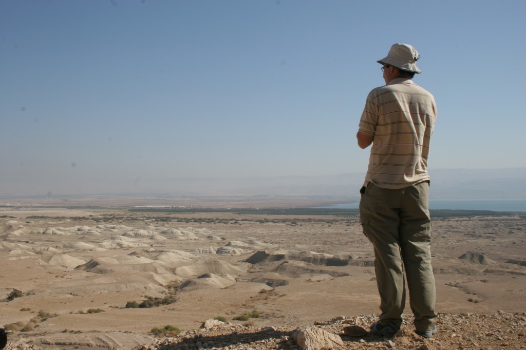 Qumran as seen from the cliffs (photo credit: Shmuel Bar-Am)