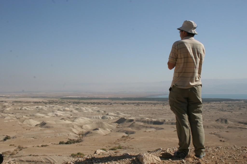Qumran as seen from the cliffs (photo credit: Shmuel Bar-Am)