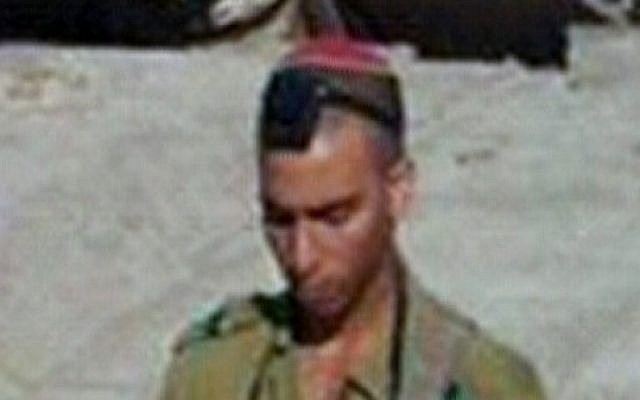 Yosef Partok, who was killed in a rocket attack on the Eshkol region on Tuesday (photo credit: Channel 10 screen capture)