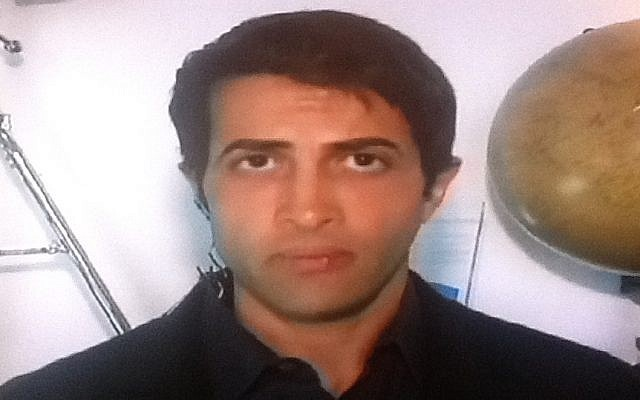 Mosab Hassan Yousef, interviewed on Israel's Channel 2 Friday (photo credit: Channel 2 screenshot)