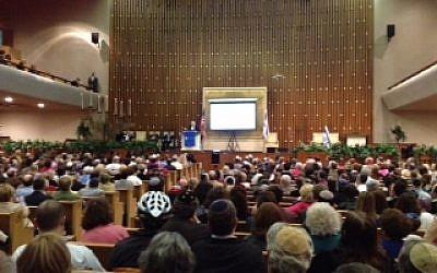 Pro-Israel gathering in Atlanta. (photo courtesy)