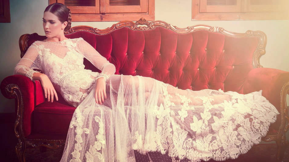 The romantic look of Yair Germon's gowns (Courtesy Yair Germon)