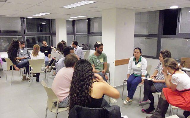 At a Jerusalem Mix session (Courtesy Jerusalem Village)