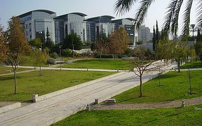 An illustrative photo of the Bar-Ilan University campus. (CC-BY/Avishai Teicher/Wikimedia Commons)