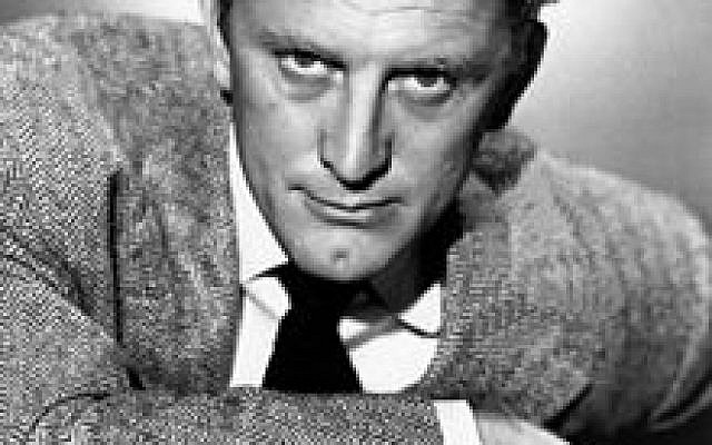 A sultry Kirk Douglas (photo credit: Wikimedia Commons)