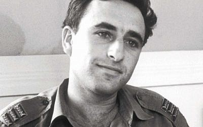 Lipkin-Shahak as a young captain in the 1960s (photo credit: IDF Spokesperson's Office)