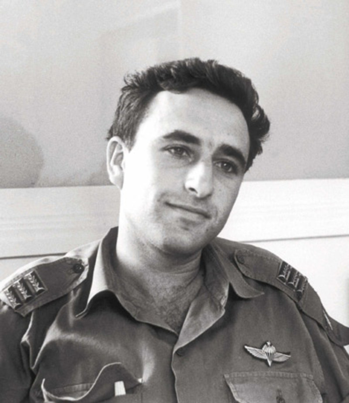 Amnon Lipkin-Shahak as a young captain in the 1960s (photo credit: IDF Spokesperson's Office)