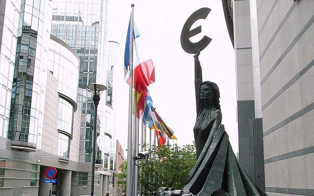 The European Parliament in Brussels, Belgium (photo credit: CC BY-SA stevecadman, Flickr)