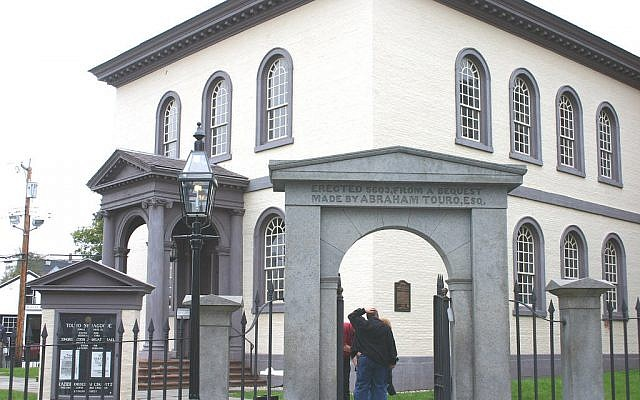 The Touro Synagogue in Newport RI (photo credit: CC-BY, dbking, Flickr)