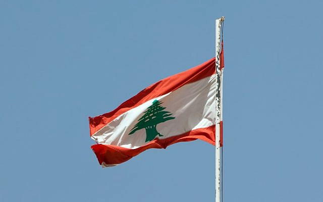 The Lebanese flag. (photo credit: Flicker/CC BY 2.0/ Eusebius@Commons)
