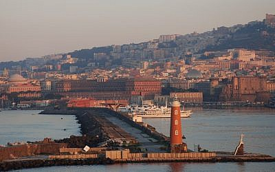 A view of Naples harbor (photo credit: CC BY MegaZoi, Flickr)