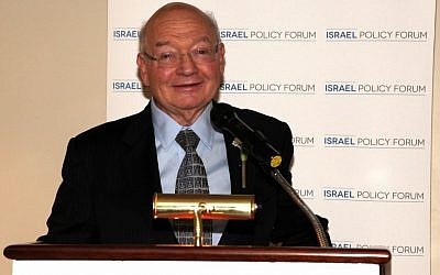 Rep. Gary Ackerman (Courtesy of the Israel Policy Forum via JTA)