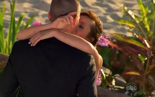 "Ashley Hebert and JP Rosenbaum found love on US reality series ""The Bachelorette."" (YouTube screenshot)"