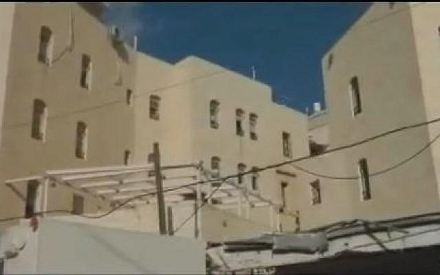 Beit Ezra in Hebron (photo credit: YouTube screen capture)