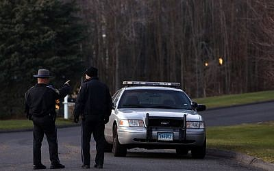 Illustrative photo of police in Connecticut, USA (AP/Jason DeCrow)