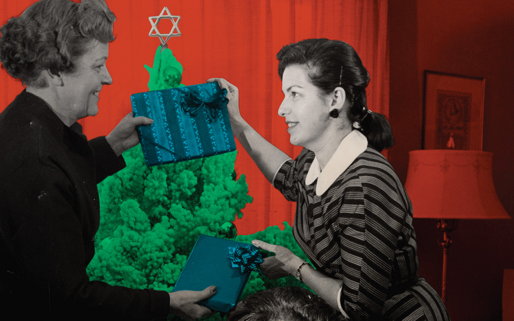 The rivalry between Hanukkah and Christmas has inspired wonderful music for both holidays. (Courtesy of the Idelsohn Society for Musical Preservation)