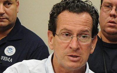 Connecticut Governor Dannel Malloy (photo credit: Jocelyn Augustino/FEMA, Wikimedia)