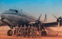 In 1949, El Al flew propeller planes -- a technology that produced extra excitement on the company's debut trip from London. (Courtesy of El Al)