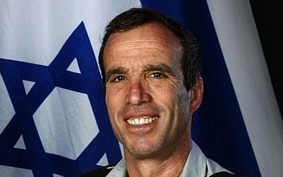 Elazar Stern, shortly before leaving the military in 2008 (Flash 90/IDF Spokesman)