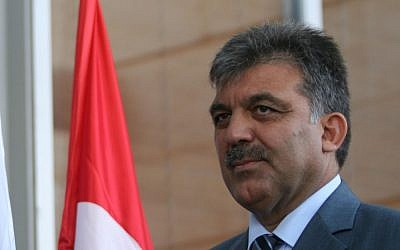 Turkish former president Abdullah Gul (photo credit: Pierre Terdjman/Flash90)