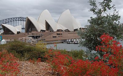 The opera house, Sydney, Australia. (photo credit: Yoram Zmora/Flash90)