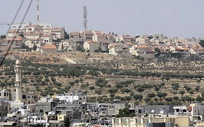 Gilo as seen from Bethlehem. (photo credit: Yossi Zamir/Flash90)
