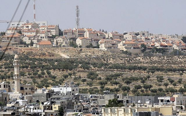 Gilo as seen from Bethlehem. (photo credit: Yossi Zamir/Flash90)
