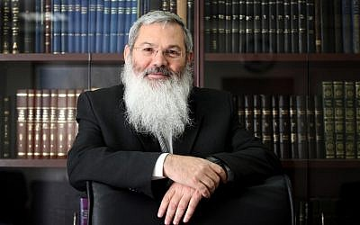 Eli Ben Dahan in 2010 (photo credit: Yossi Zamir/Flash90)