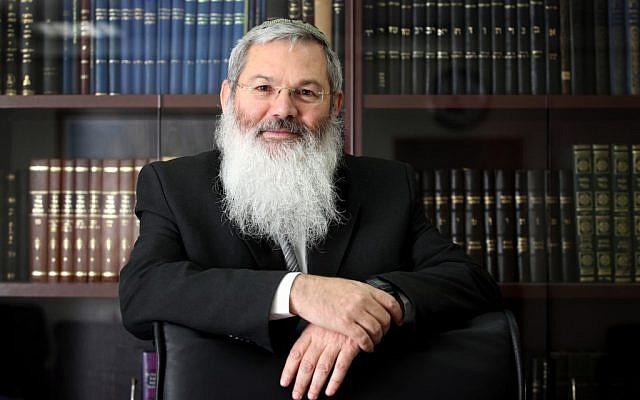 Deputy Defense Minister Rabbi Eli Ben Dahan in 2010 (Yossi Zamir/Flash90)