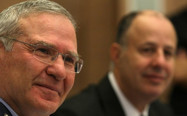 Amos Yadlin, former Director of Military Intelligence, Nov. 2012. (photo credit: Kobi Gideon / FLASH90.)