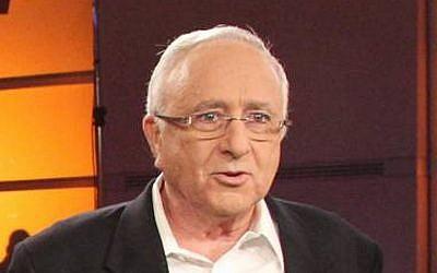 Amnon Lipkin-Shahak in 2011 (photo credit: Meir Partush/Flash90)
