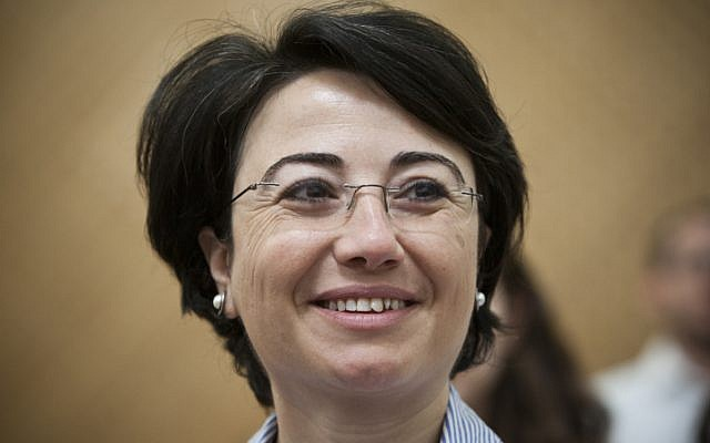 Hanin Zoabi (photo credit: Yonatan Sindel/Flash90)