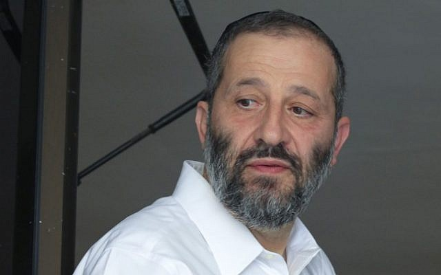 Aryeh Deri (photo credit: Oren Nahshon/Flash90)