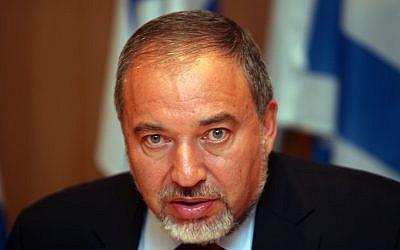 Avigdor Liberman (photo credit: Yoav Ari Dudkevitch/Flash90)