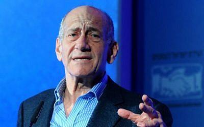 Former prime minister Ehud Olmert (photo credit: Yossi Zelger/Flash90)