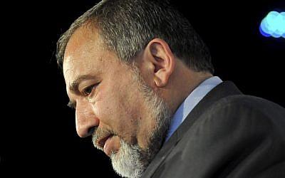 Yisrael Beytenu Chairman Avigdor Liberman (photo credit: Yossi Zeliger/Flash90)