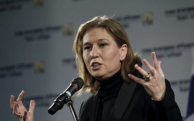 Hatnua party leader Tzipi Livni (photo credit: Tsafrir Abayov/Flash90)