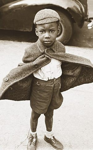 "Jerome Liebling's ""Butterfly Boy, New York,"" shot in 1949, is typical of Photo League style in its interest in an underrepresented minority. (Courtesy of the Contemporary Jewish Museum)"