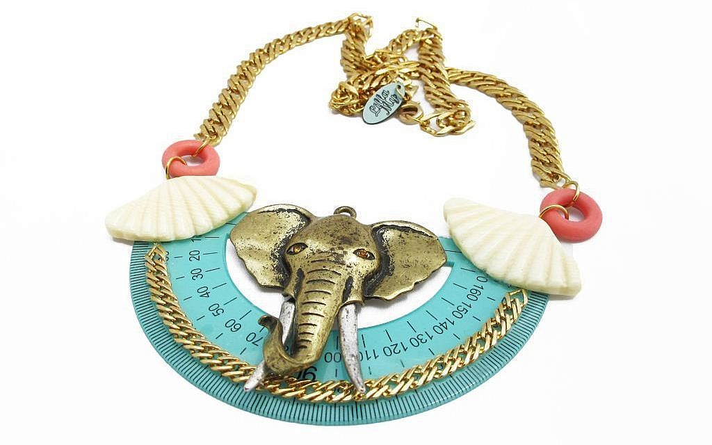 An elephant-inspired breastplate (Courtesy My Lilla)