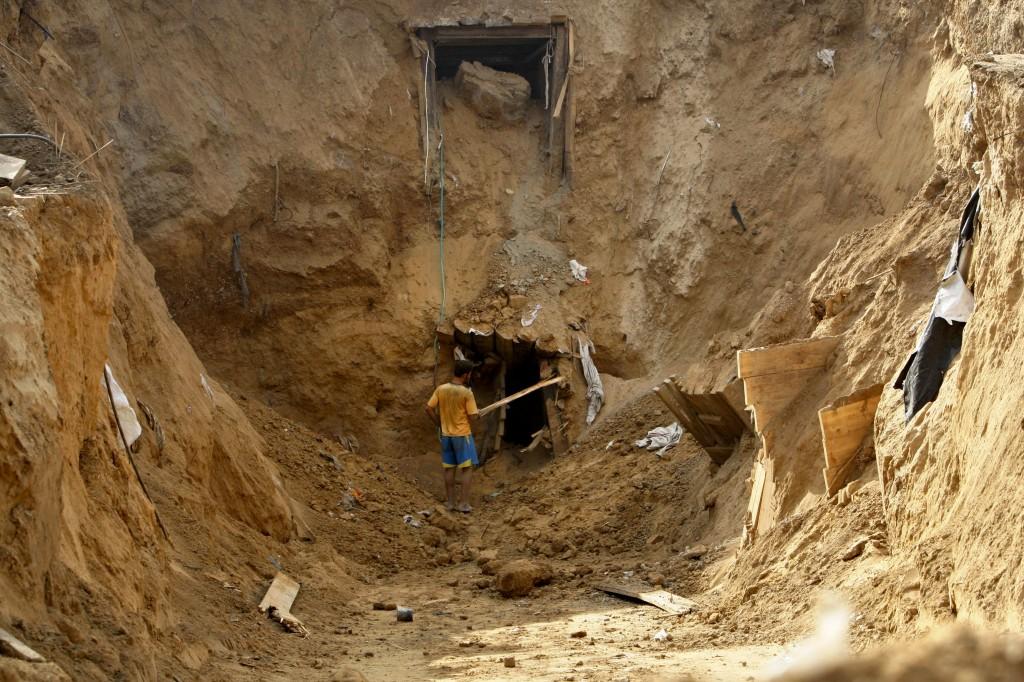 Photo essay | Gaza tunnels