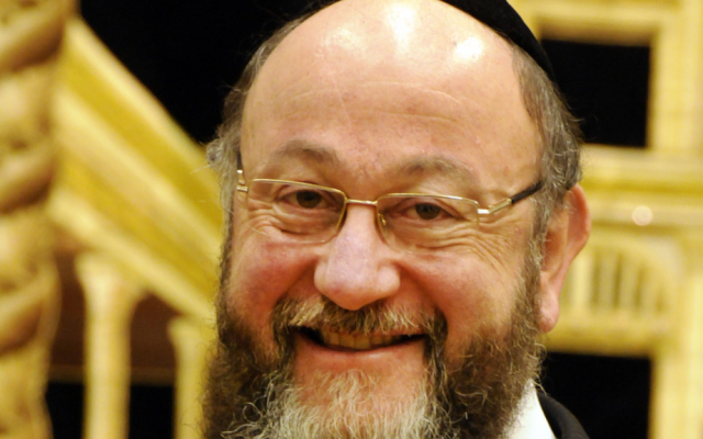 Britain's chief rabbi, Ephraim Mirvis (photo credit: John Rifkin/File)