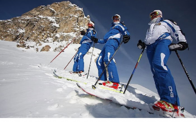 Skiers who keep kosher now have a mountain of choices as they plan trips to the Alps. (photo credit: Courtesy of My One Hotel via JTA)