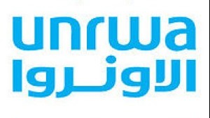 UNRWA logo (photo credit: UN)