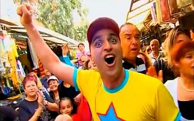 Popular children's entertainer Yuval Hamevulbal (photo credit: screen capture Youtube)